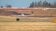 Stock Video Footage of Piper Cherokee Aircraft