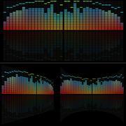 LED Analyzer Set Stock Illustration