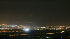 View Over Dublin From Montpelier Hill Aka The Hellfire Club - stock footage