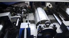 Printing industry Stock Footage