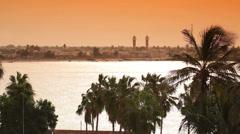 Senegal. Landscape. Stock Footage