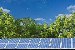 Aurinkopaneelit Kuvituskuvat