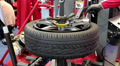 Tyre fitting HD Footage