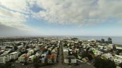 Reykjavik Stock Footage