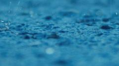 Tropical rainfall, Southern Hemisphere - stock footage