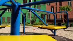 Childrens playground Stock Footage