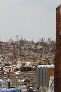 Tornado Damage - Vaikea Storm Kuvituskuvat