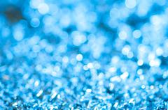 Defocused blue abstract christmas background Stock Photos