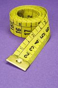 Stock Photo of measuring tape