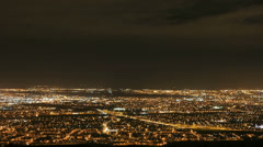 View Over Dublin From Montpelier Hill Aka The Hellfire Club Stock Footage