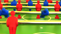Foosball Stock Footage