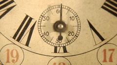Vintage alarm clock Stock Footage
