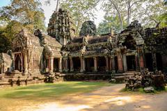 Prasat ta prohm in siem reap, cambodia - stock photo