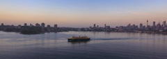 Sydney over Dawn Harbour 2nd Pass CinemaScope 267BSY PAL Stock Footage