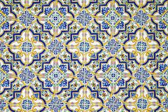 Typical andalusian tiled wall Stock Photos