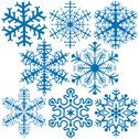 Stock Illustration of Snowflake Collection