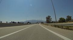 Rio - Antirio Bridge - 7 Times Faster - stock footage