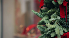 Look for Christmas gifts in rome - Watch Shop Stock Footage