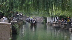 Chinese ancient town, Zhouzhuang Stock Footage
