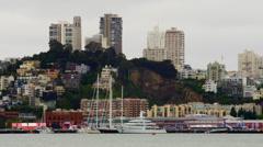 San Francisco city scene Stock Footage