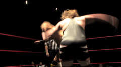 Pro Wrestling Move: Back Suplex Stock Footage