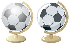 Football / Soccer World - stock illustration