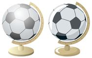 Stock Illustration of Football / Soccer World