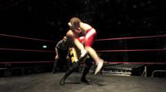 Pro Wrestling Move: Fisherman's Suplex - stock footage