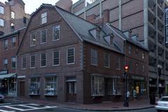 Old Corner Bookstore, Boston, Massachusetts Stock Photos