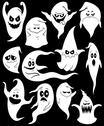 Stock Illustration of Ghosts