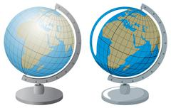 Globe - stock illustration