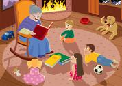 Stock Illustration of Grandmother