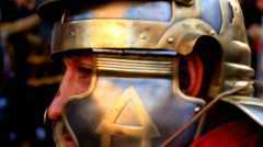 Roman army 87 Stock Footage