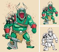 Orc Stock Illustration