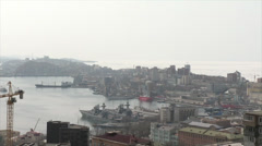 Bay in Vladivostok Stock Footage