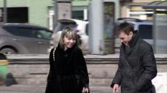 Two Vladivostok Stock Footage