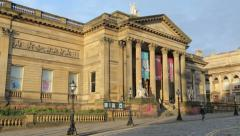 The walker art gallery, liverpool, england Stock Footage