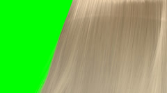 hair blowing blonde GS - stock footage