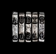 Audit concept Stock Illustration