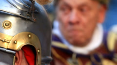 Roman army 97 Stock Footage