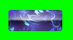 Animated Tile No Shadow - Green Screen - HD Stock Footage