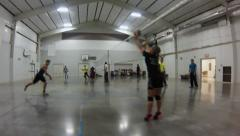 Volleyball Spike - stock footage