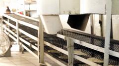 Tortilla machine Stock Footage