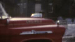 Vintage 8mm palomiehet Arkistovideo