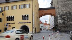 Regensburg Bavaria Stock Footage