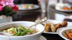 Thai cuisine - stock footage