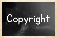 Copyright concept Stock Illustration