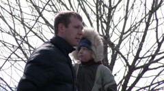 Family from Vladivostok Stock Footage