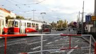 Stock Video Footage of Prague Tram