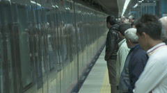 Marmaray Tube Tunnel(76) Stock Footage